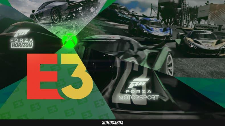 Forza Motorsport y Forza Horizon 5 en el E3 2021