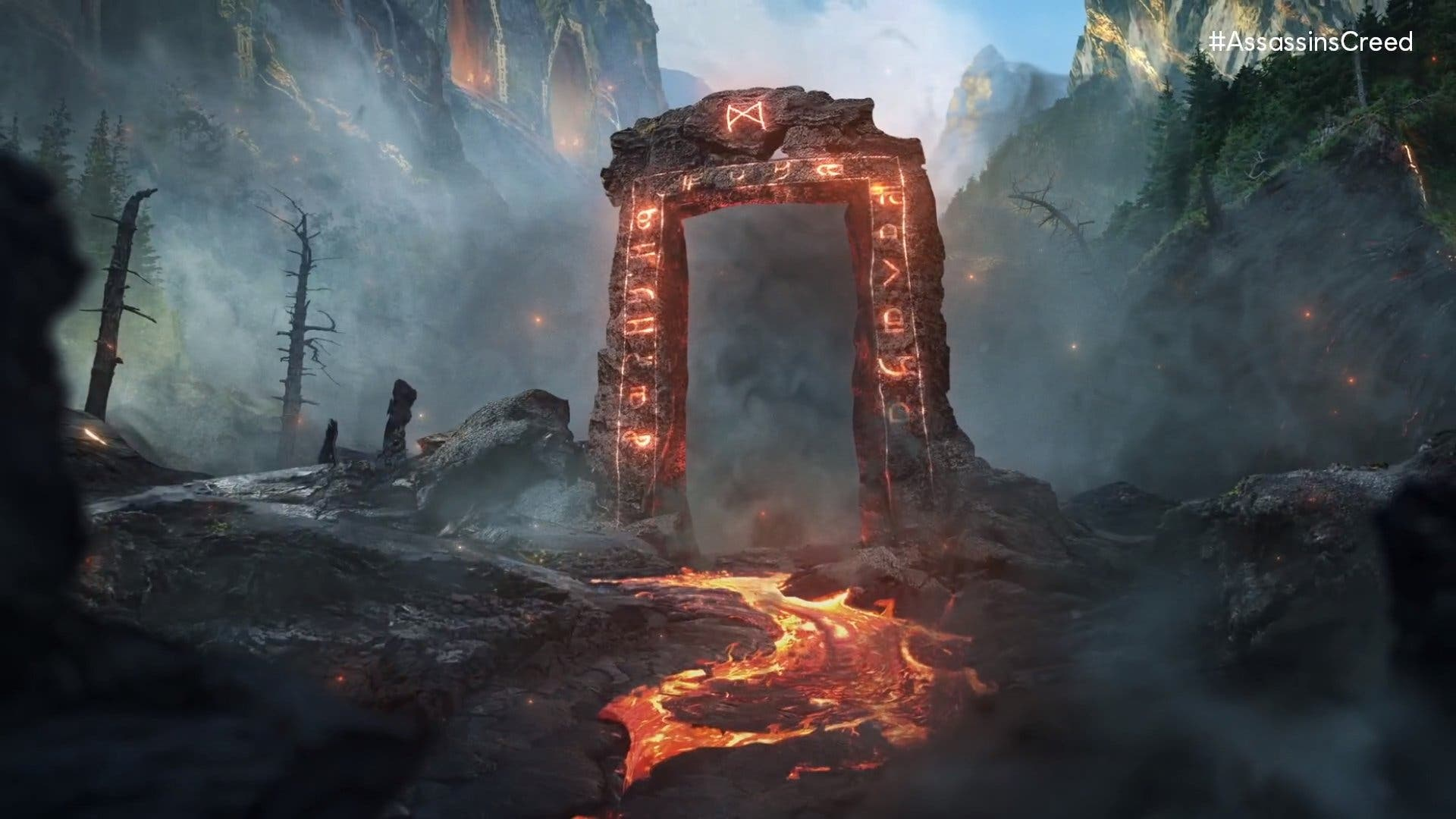 teaser de Meteor de Assassin's Creed Valhalla