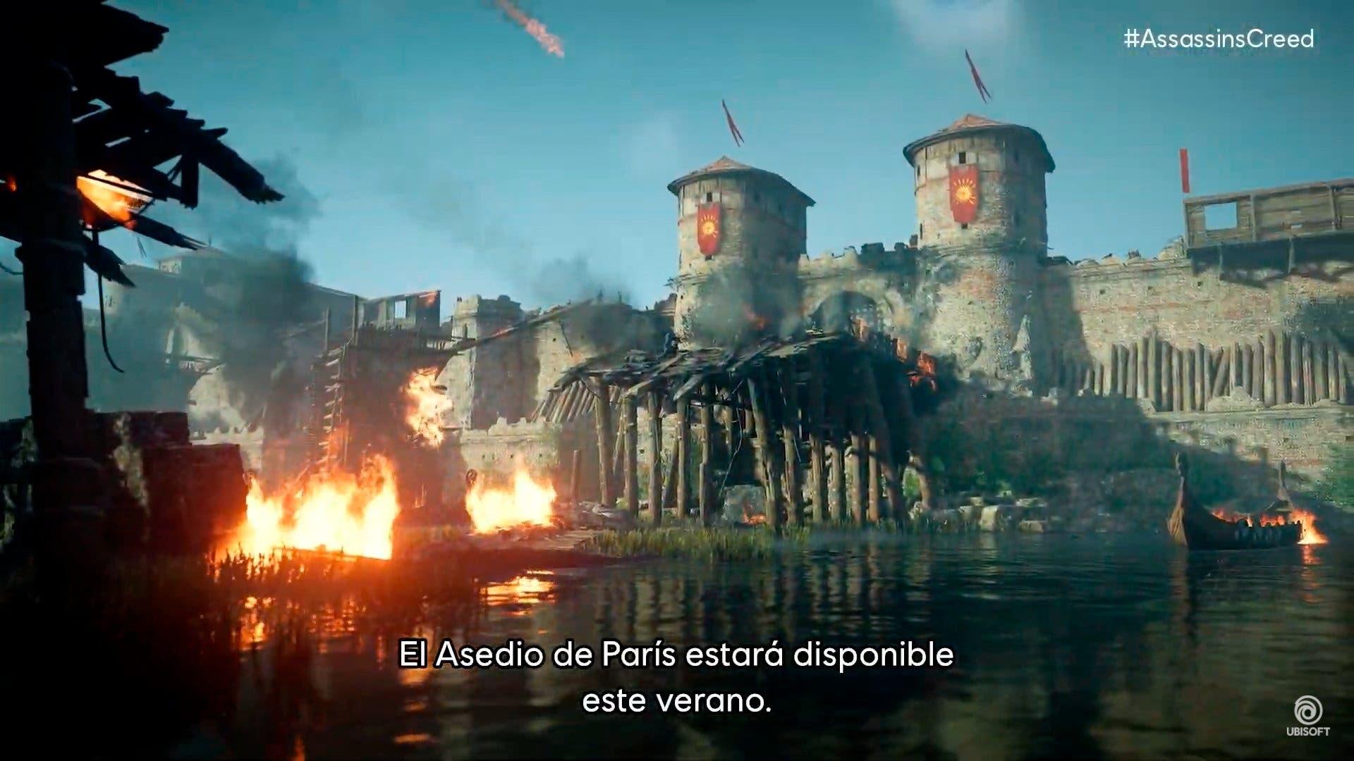 nuevos detalles de Assassin's Creed Valhalla El Asedio de París