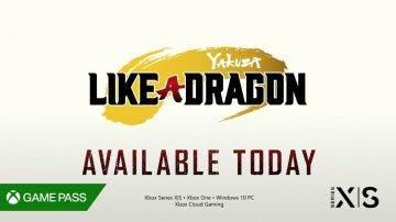 Yakuza Like a Dragon ya está disponible en Game Pass