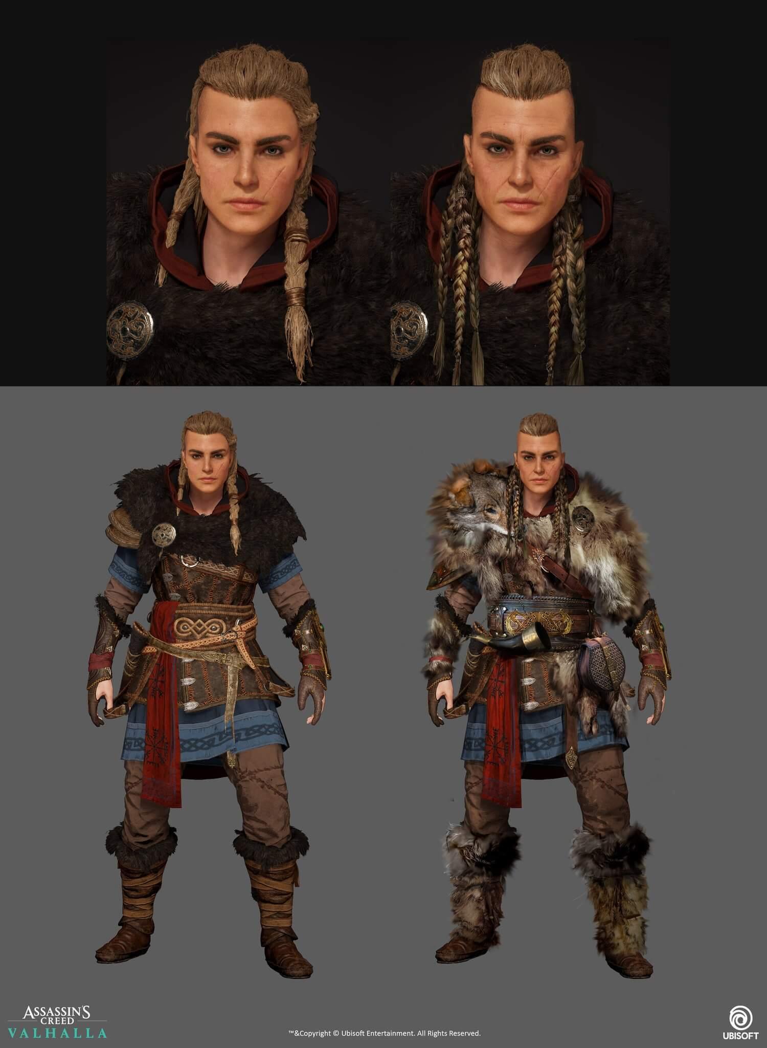 Eivor envejenciendo con el paso del tiempo en las próximas expansiones de Assassin's Creed Valhalla
