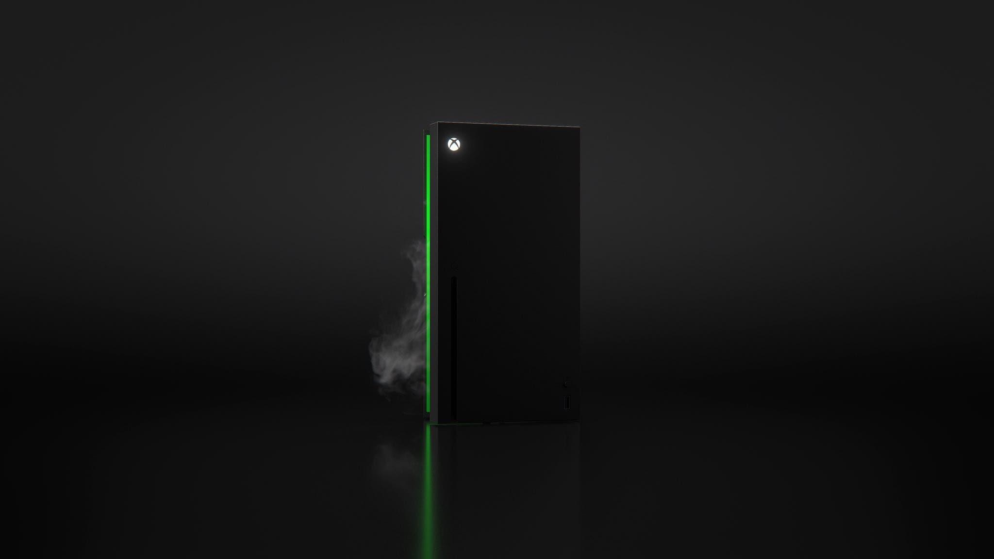 mini nevera de Xbox Series X por dentro