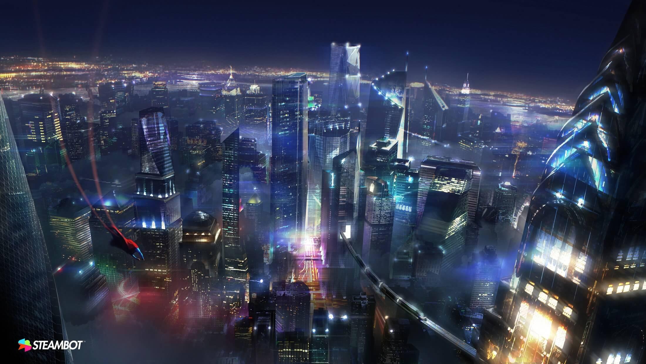 juego de Superman con Unreal Engine 5