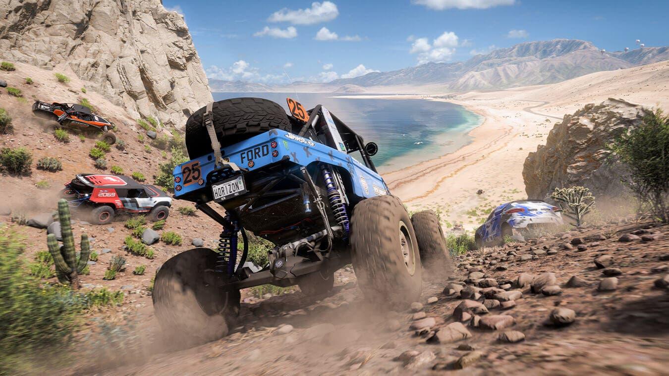 gameplay de Forza Horizon 5 en México