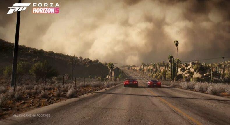 clima de Forza Horizon 5