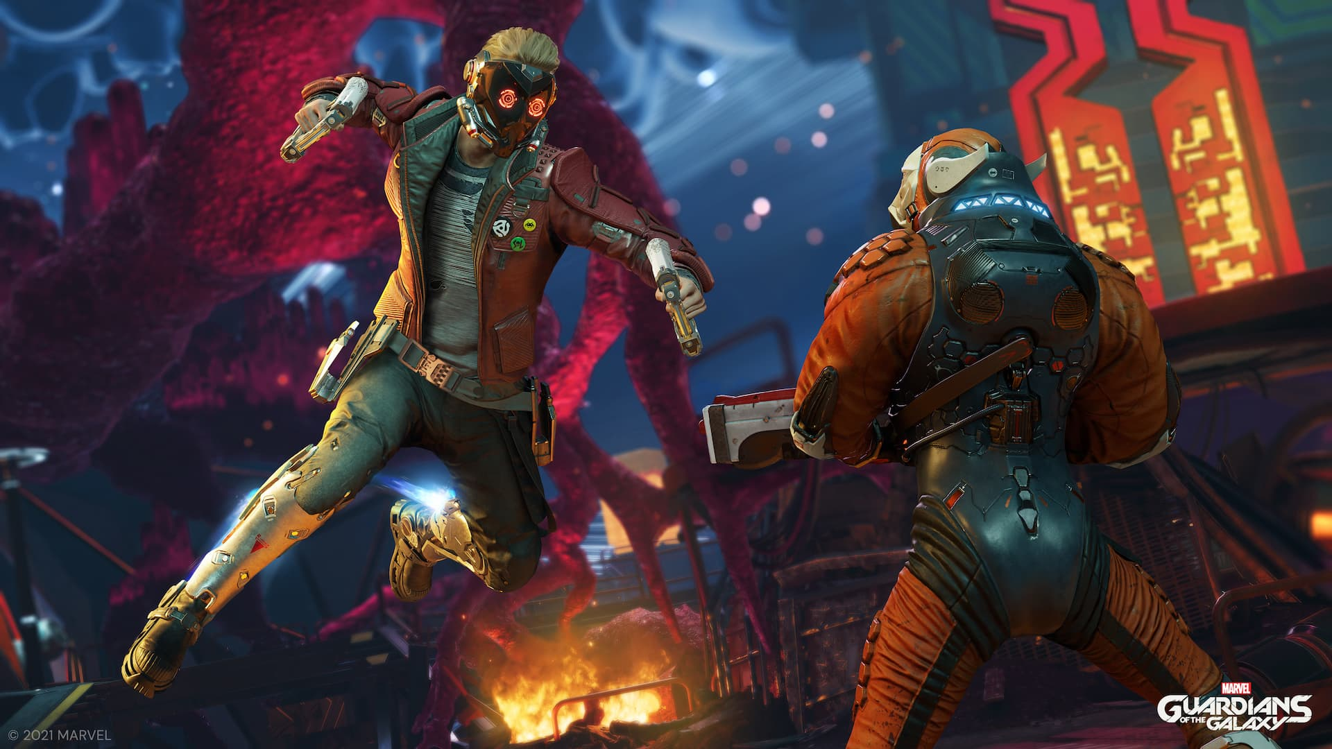 Impresiones de Guardians of the Galaxy - Os contamos todo sobre el nuevo juego de Square Enix y Marvel 4