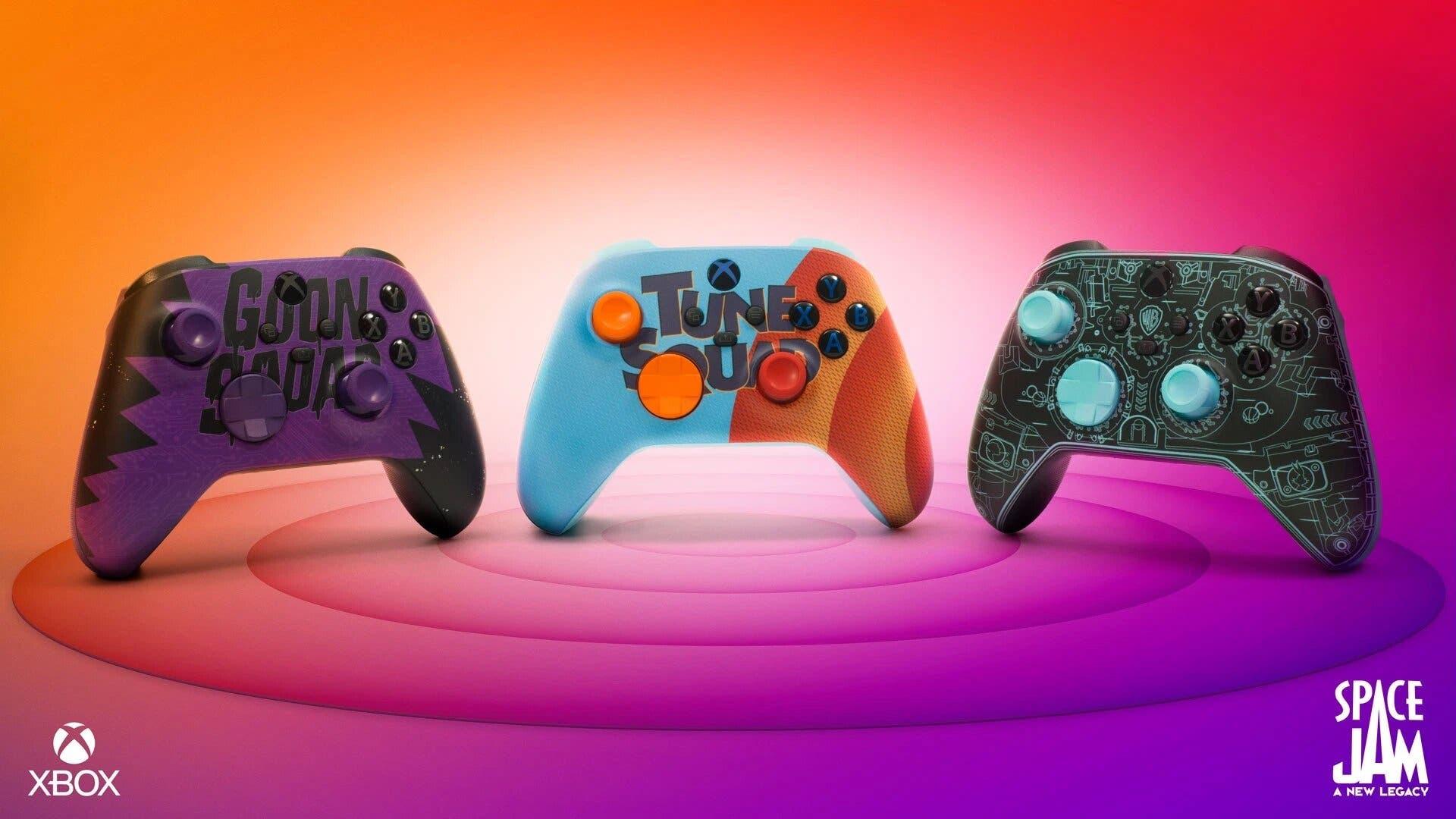 Xbox anuncia 3 nuevos y atractivos mandos inspirados en Space Jam 1