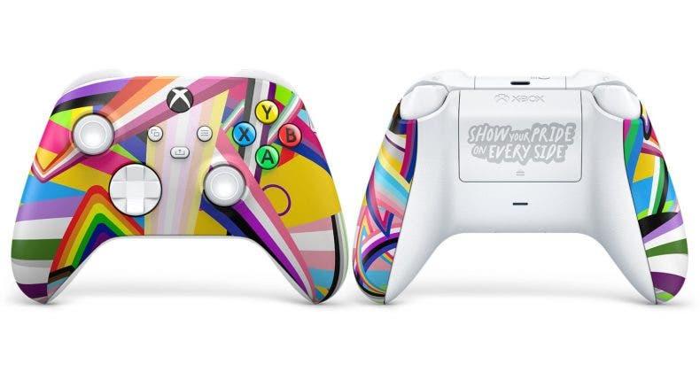 Xbox lanza un nuevo control por el Mes del Orgullo 1