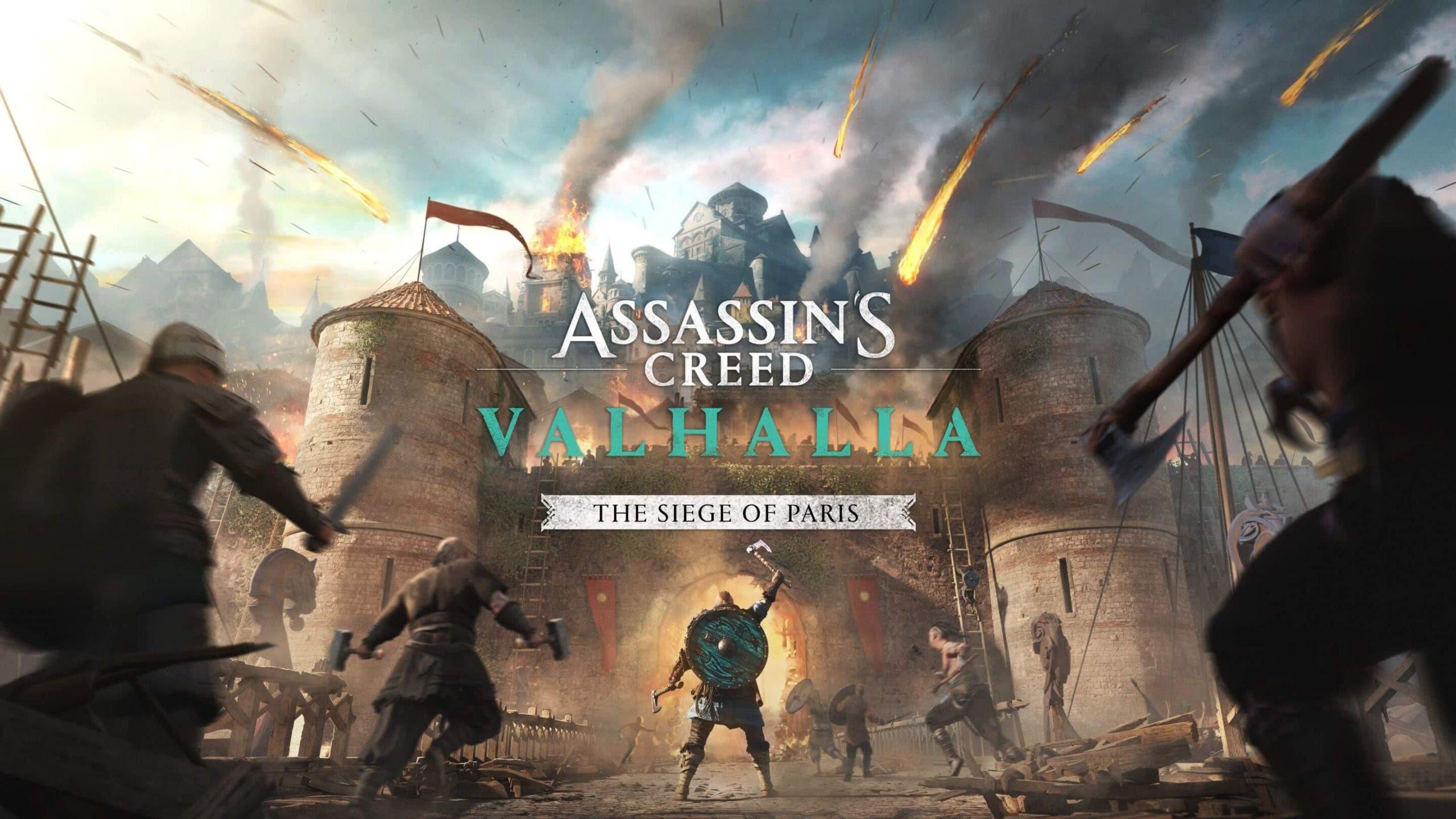 tamaño de descarga de Assassin's Creed Valhalla El Asedio de París