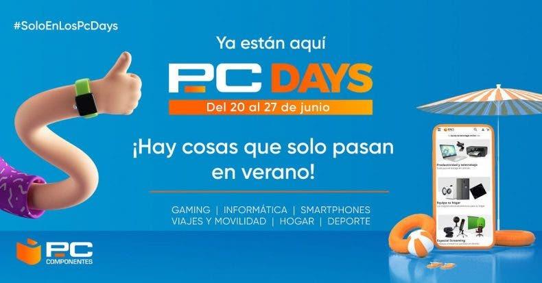 Los PcDays de PcComponentes ampliados hasta el 30 de Junio 1