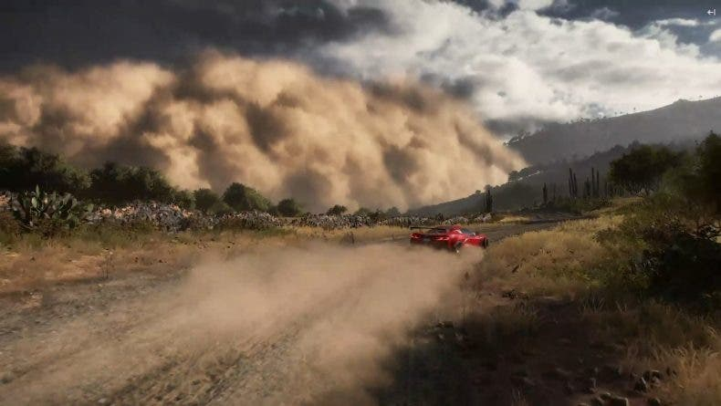 tormenta de arena en Forza Horizon 5