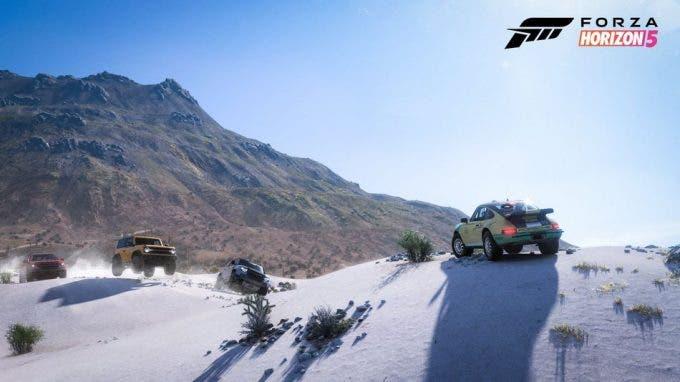 mapa de Forza Horizon 5