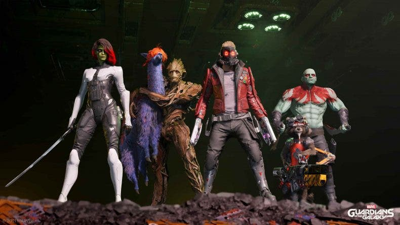 El director creativo de Marvel's Guardians of the Galaxy explica la razón por la que Star-Lord es el único personaje jugable 1