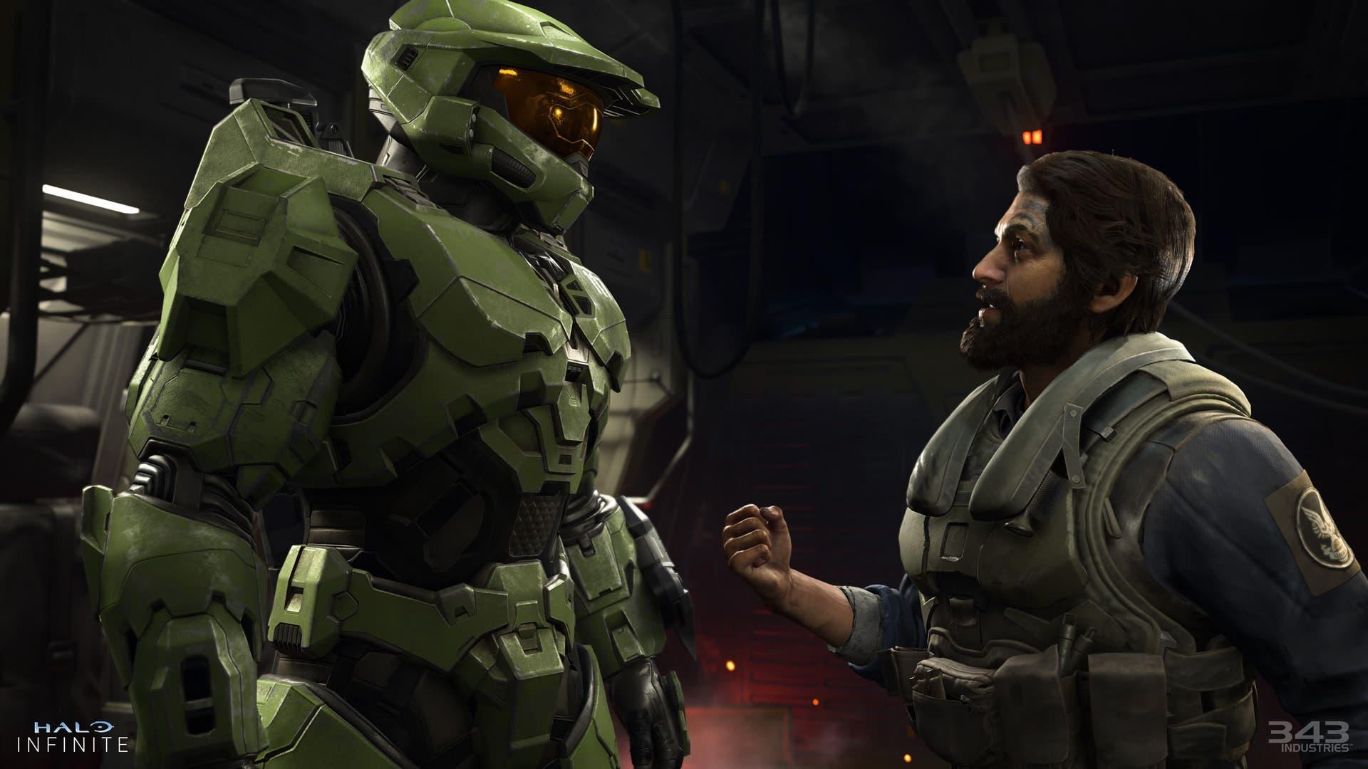 Primeras imágenes de Halo Infinite en Xbox One