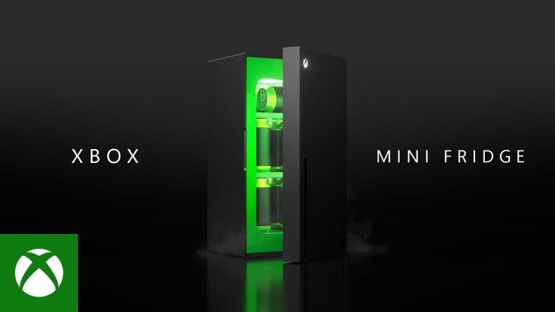 mini nevera de Xbox Series X