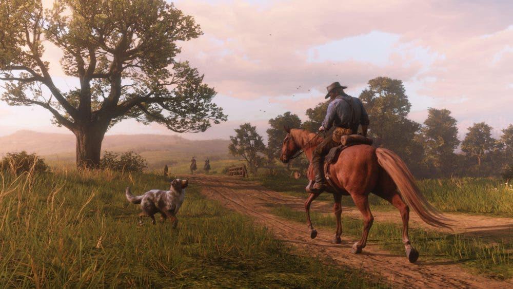 Red Dead Redemption 2 permite a los jugadores tener un perro