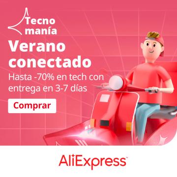 Aprovecha las ofertas de TecnoManía de AliExpress con descuentos de hasta un 70% 3