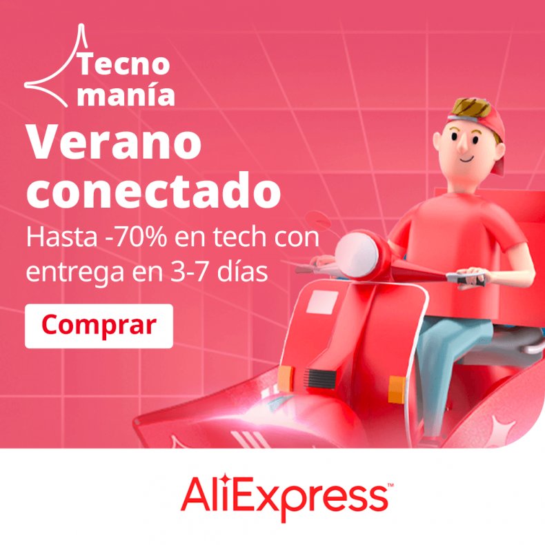 Aprovecha las ofertas de TecnoManía de AliExpress con descuentos de hasta un 70% 1