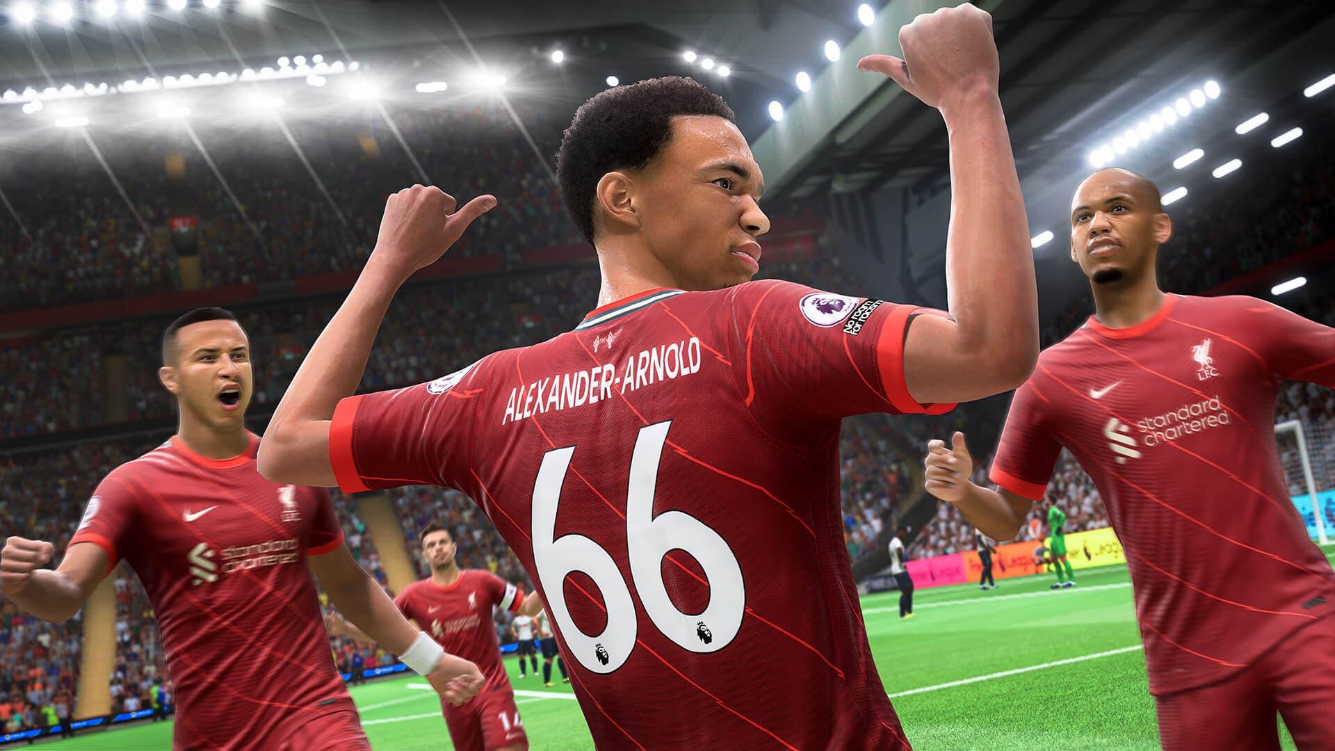 tamaño de descarga de FIFA 22