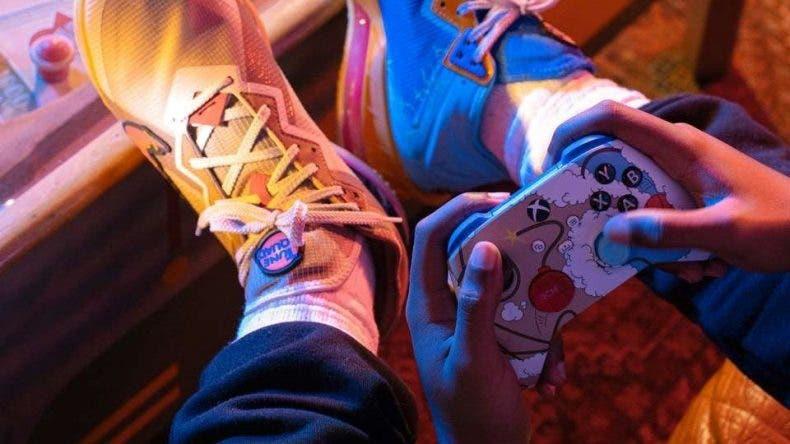 Xbox presenta el nuevo mando de Space Jam junto a sus zapatillas Nike 1