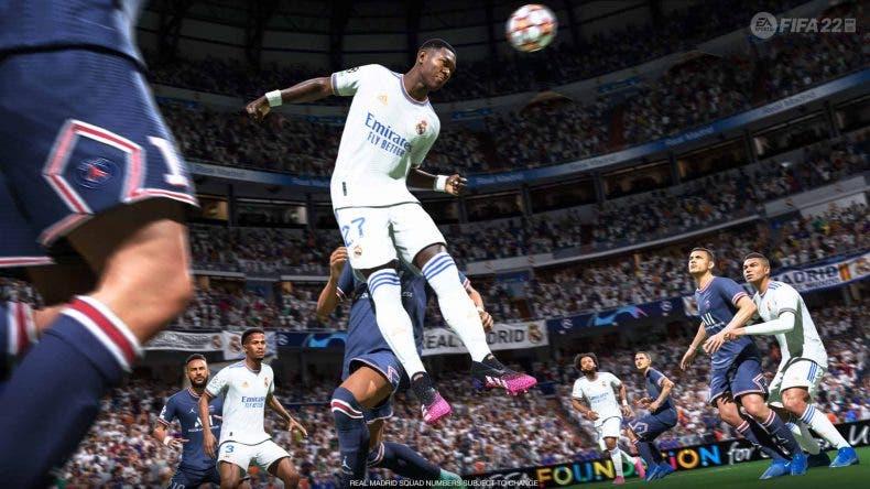 gameplay de FIFA 22