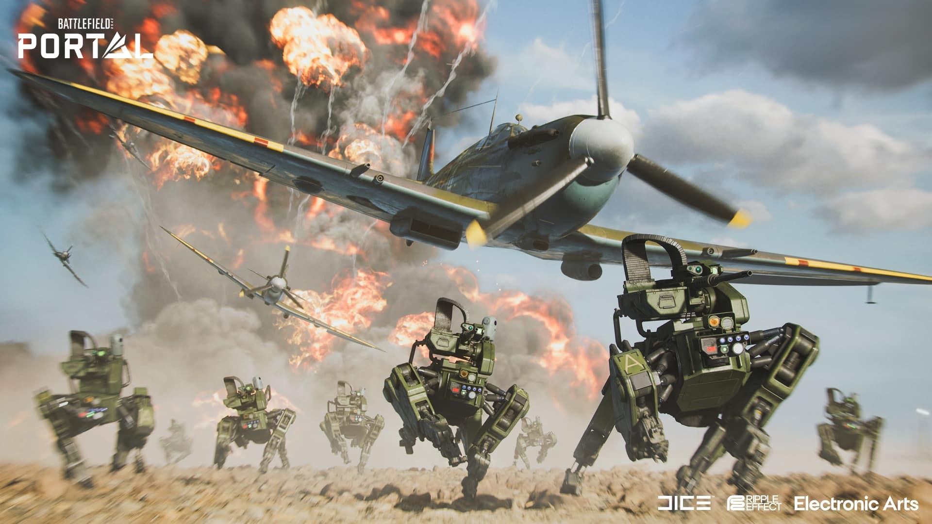 Se filtra un gameplay de Battlefield para móviles que muestra vehículos y la jugabilidad típica de la saga 2