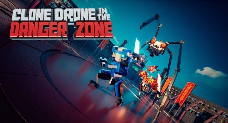 Clone Drone in the Danger Zone ya está disponible en Xbox