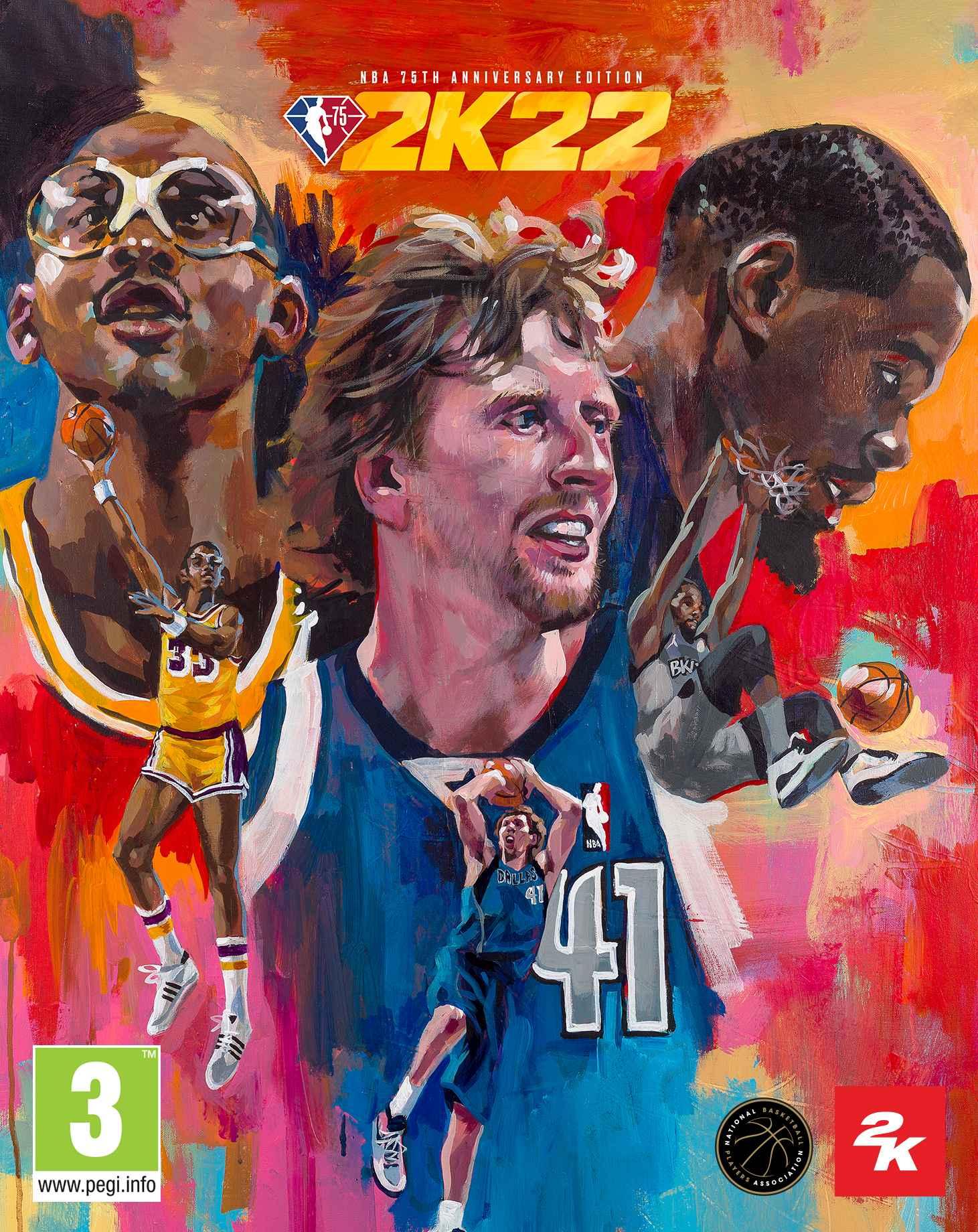 portadas de NBA 2K22