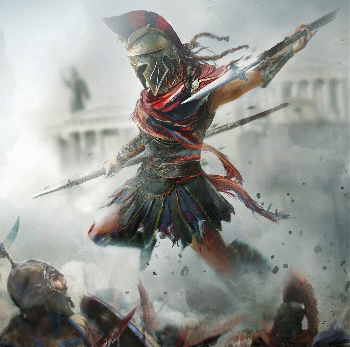 artes conceptuales de Assassin's Creed Odyssey