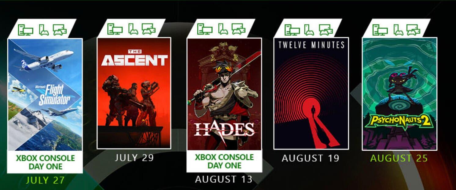 juegos que llegarán a Xbox Game Pass