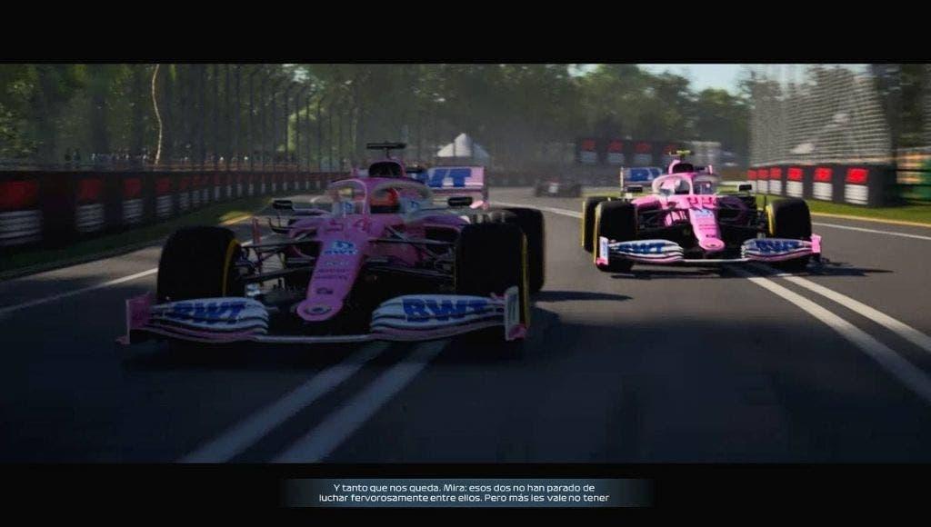 F1 2021 en Xbox Series X y PS5