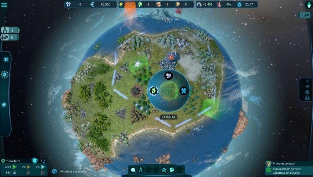 Análisis de Imagine Earth - Xbox Series X