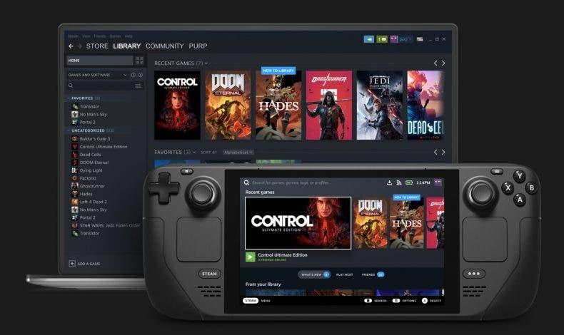 Steam Deck nos permitiría jugar a Xbox Game Pass