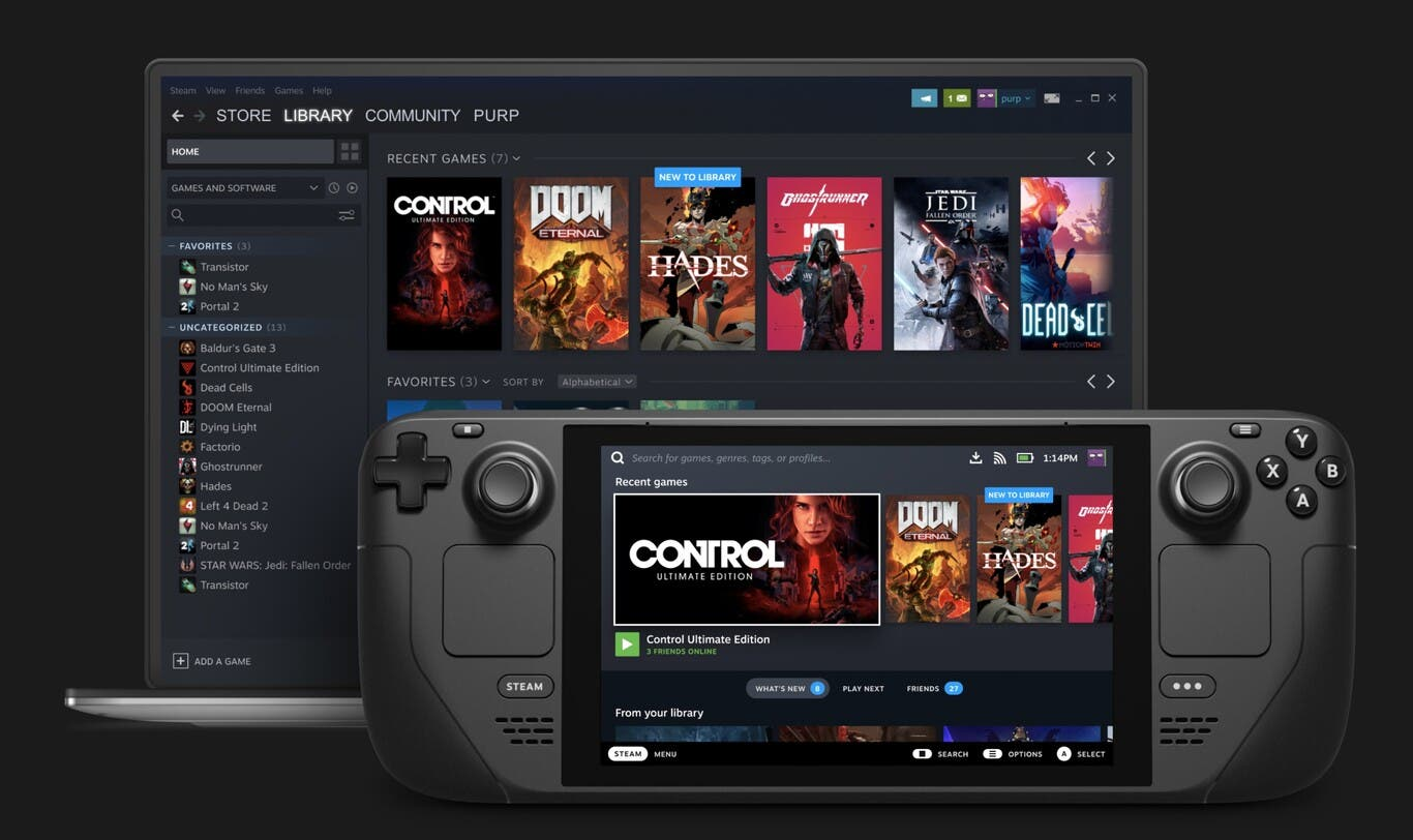 Steam Deck would allow us to play Xbox Game Pass