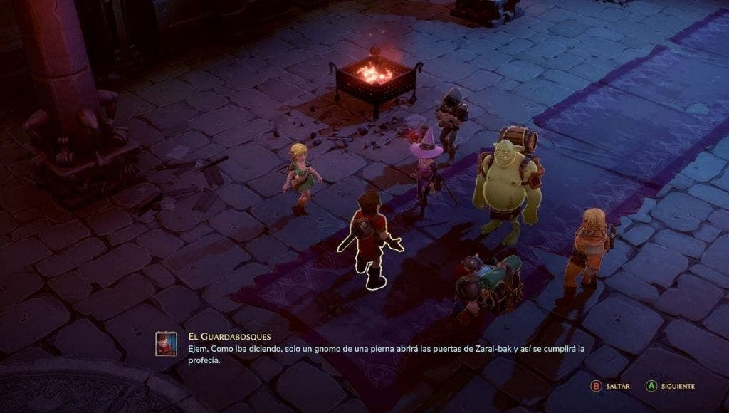Análisis de The Dungeon of Naheulbeuk: The Amulet of Chaos - Chicken Edition - Xbox One