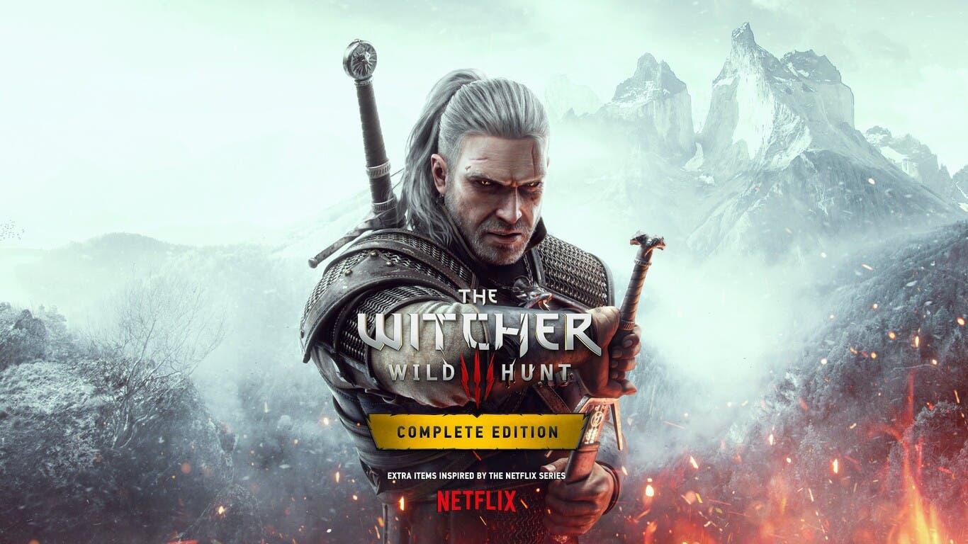 lanzamiento de The Witcher 3 para Xbox Series X