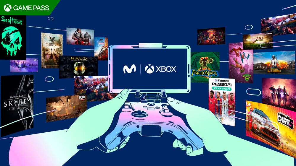 Xbox Game Pass llega a los clientes de Movistar