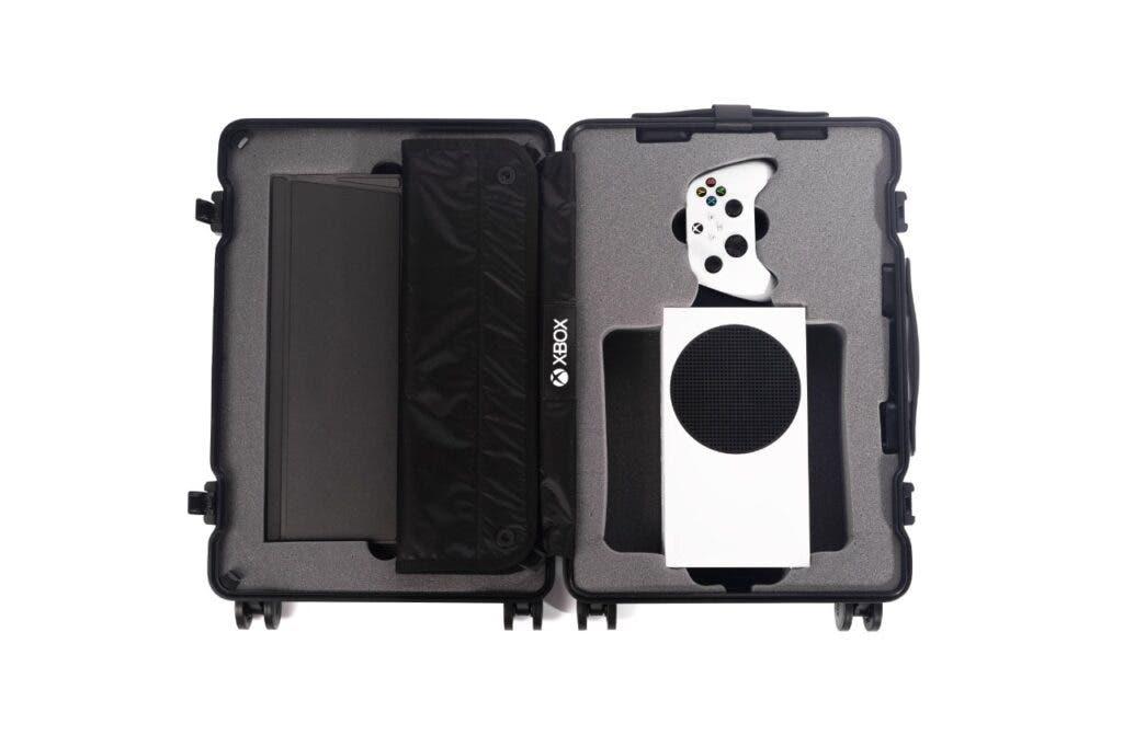 Maleta diseñada para la Xbox Series S