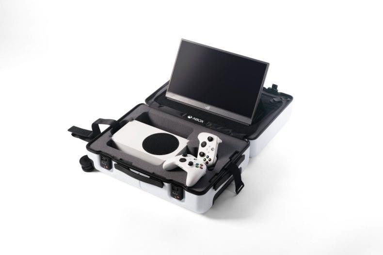 Microsoft revela una increíble maleta diseñada para la Xbox Series S 1