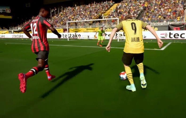 FIFA 22 se deja ver en un nuevo tráiler gameplay 1
