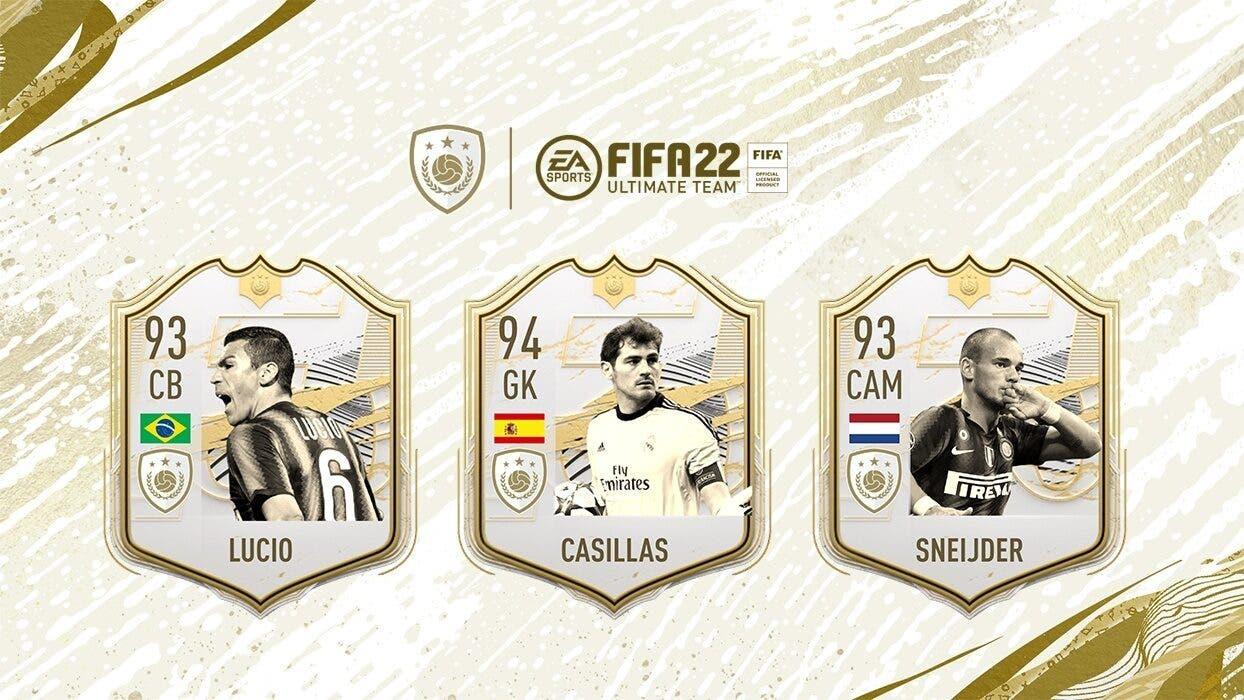 nuevos Iconos de FIFA 22