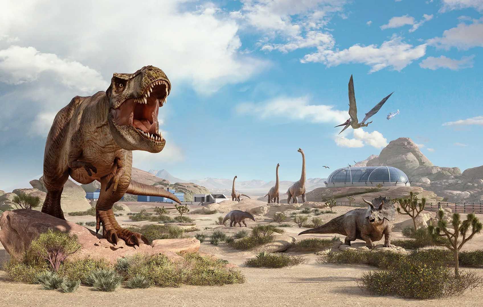 Jurassic World Evolution 2 da detalles sobre sus nuevos dinosaurios, biomas y más 4