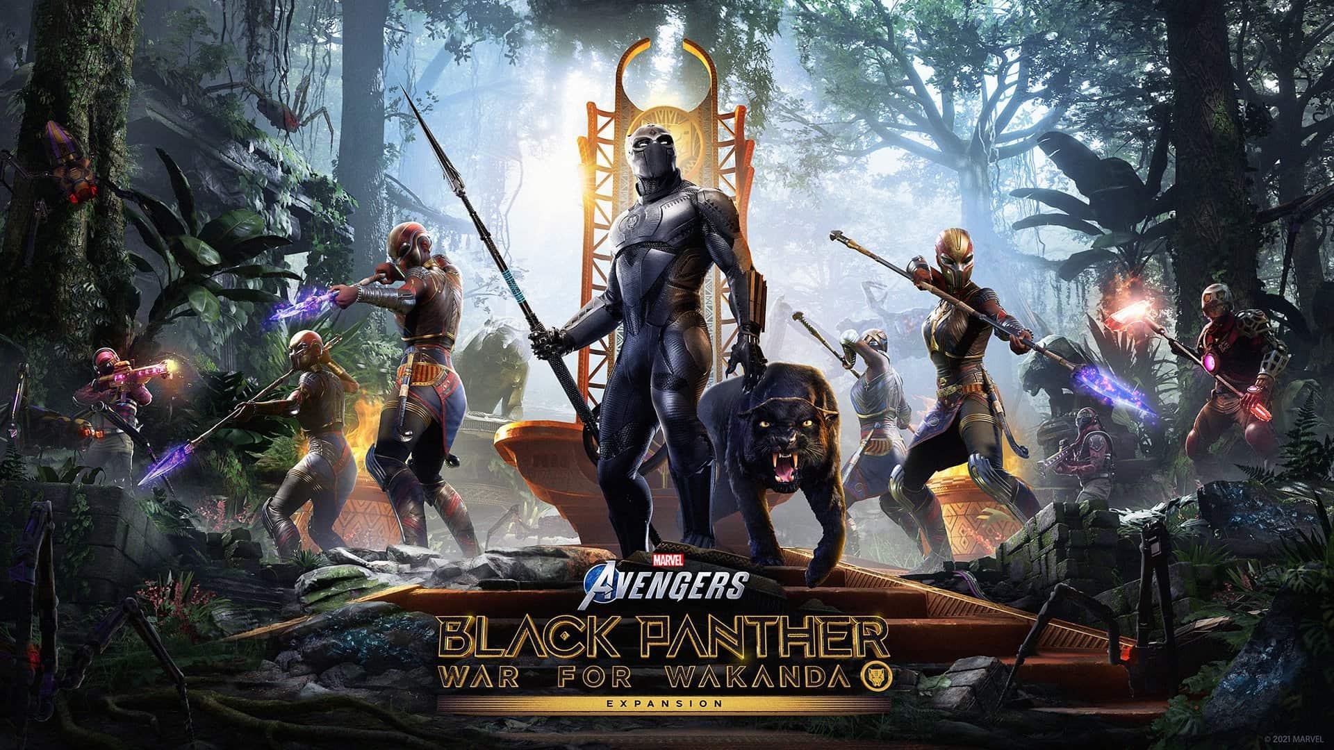 Marvel's Avengers: Black Panther - War for Wakanda se lanzará el 17 de agosto 3