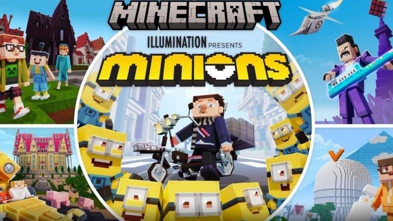 Los Minions llegan a Minecraft