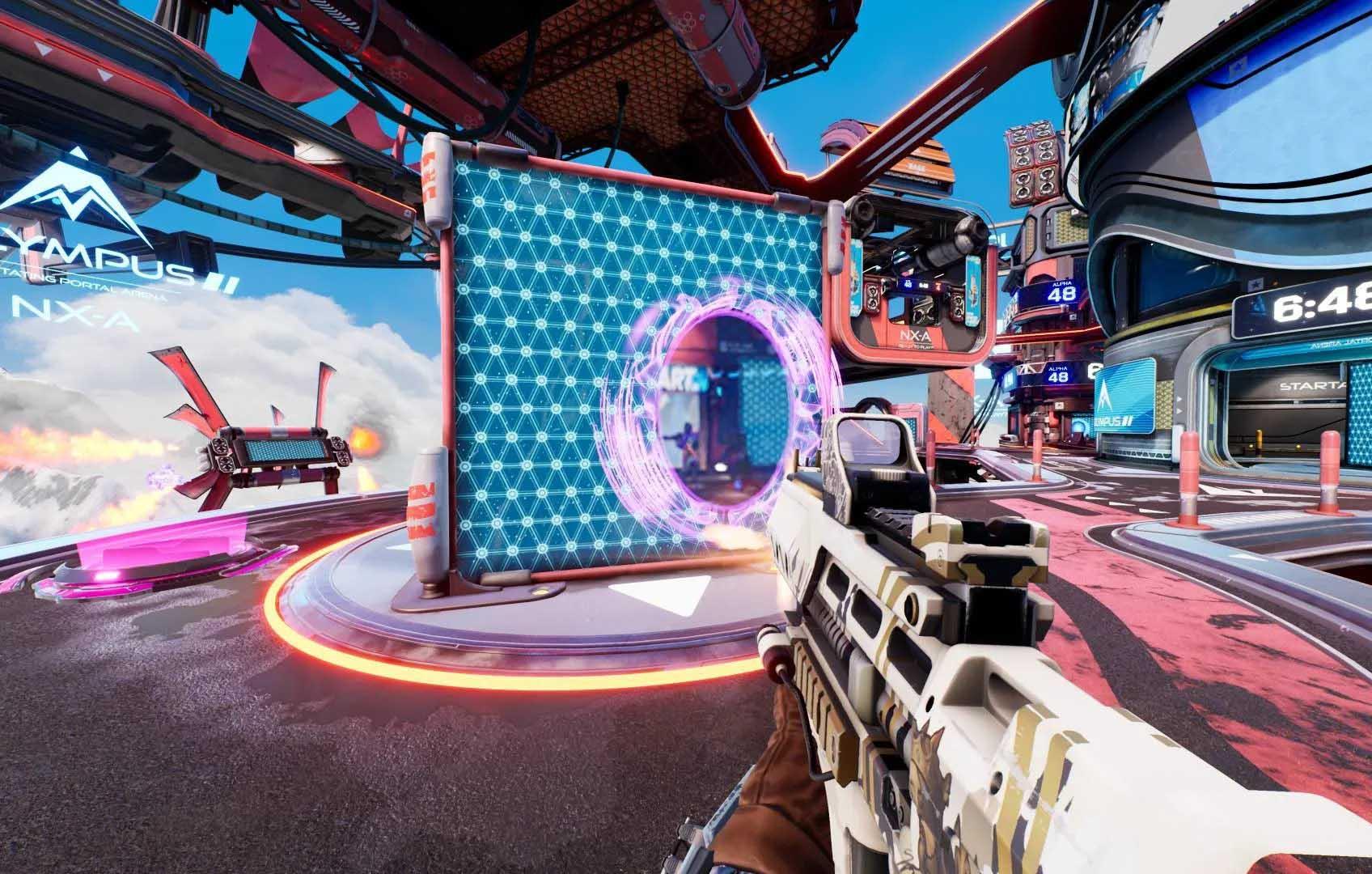 "Splitgate anuncia que tendrá modo forja ""antes que Halo Infinite"" 3"