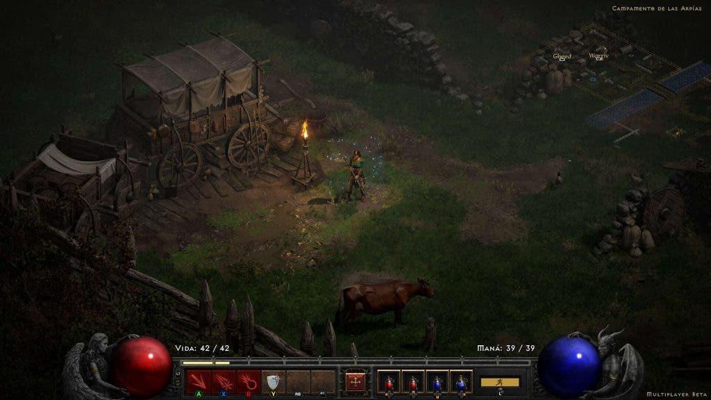 Primeras impresiones de la beta de Diablo 2 Resurrected - Una fiel actualización del clásico del 2000