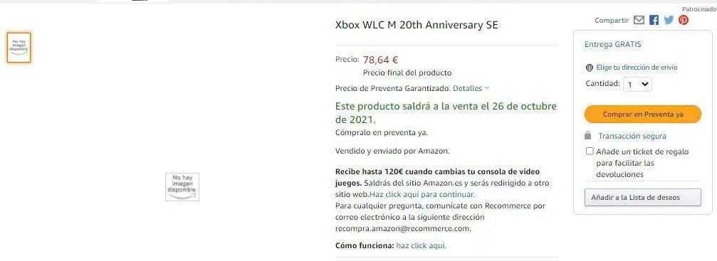 mandos especiales de Xbox