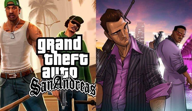 remasters de GTA San Andreas y GTA Vice City