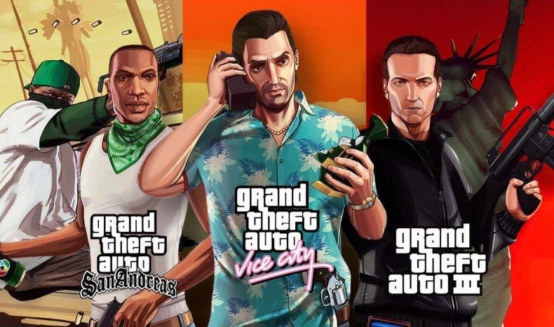 fecha de lanzamiento interna para GTA Trilogy