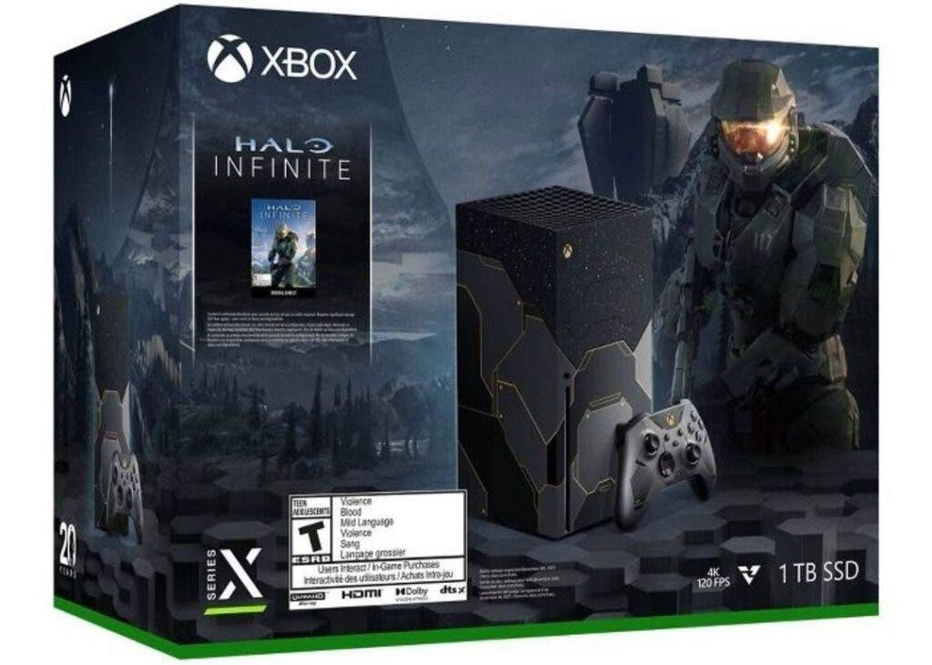 Mando de Halo de la Xbox Series X Edición Limitada